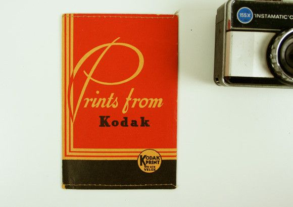 Vintage Kodak Print Envelopes Packaging Vintage Printed Envelopes Vintage Packaging Print