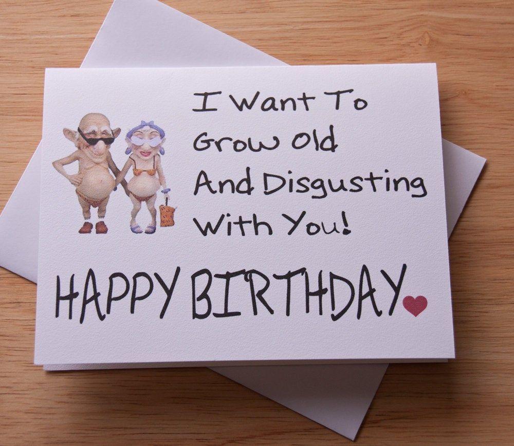 Boyfriend Birthday Card Funny Birthday Card Boyfriend Gift Etsy Birthday Cards For Boyfriend Naughty Card Funny Birthday Cards