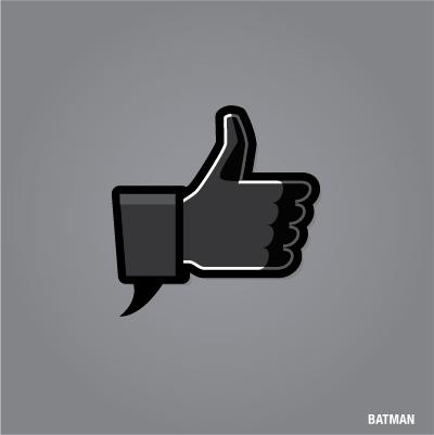 Batman Like De Facebook Disenos De Unas Ilustracion Grafica