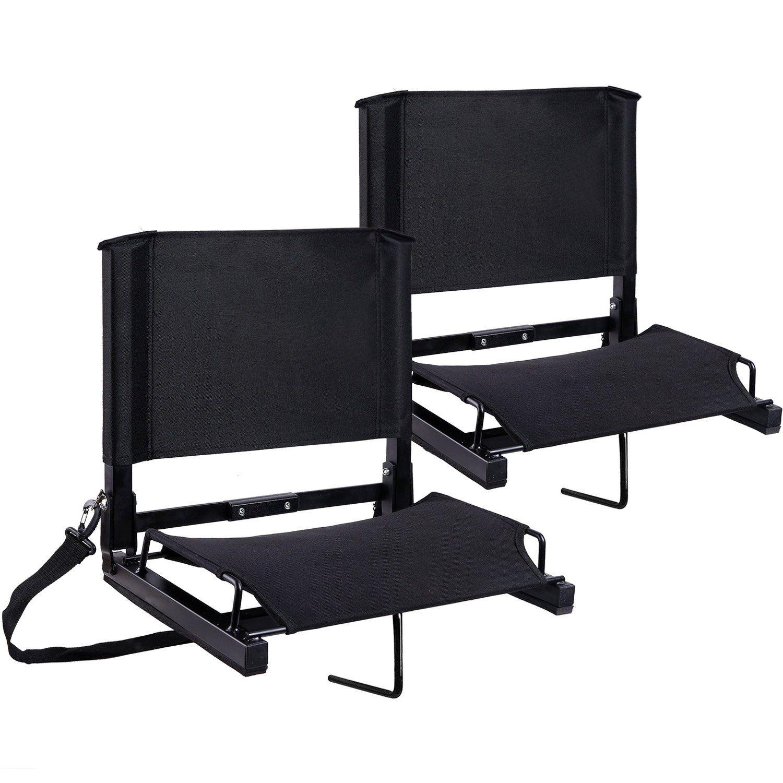 Stadium Seats Stadium Chairs Bleacher Seats By Ohuhu With Bungee