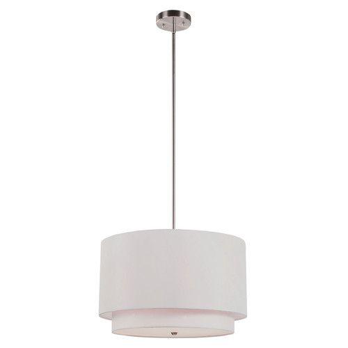 Transglobe Lighting 3 Light Drum Pendant Reviews Wayfair
