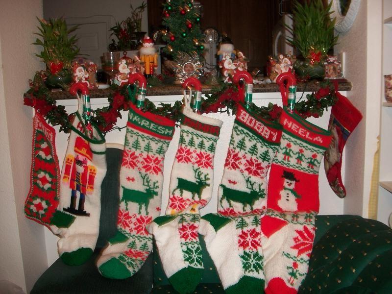 Jumbo Christmas Stocking | Knitting Essentials | Pinterest