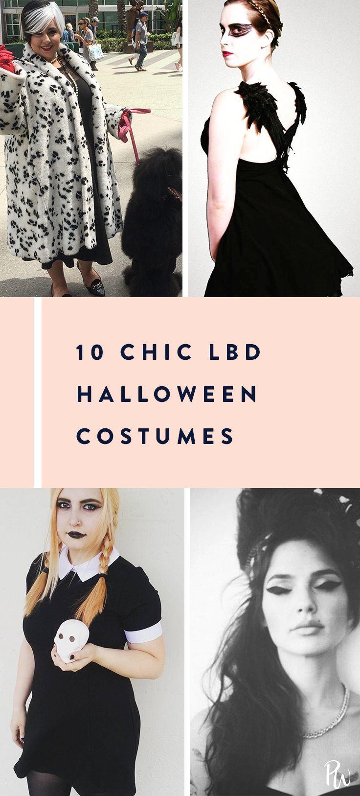 21 Chic, Little Black Dress Halloween Costume Ideas  Black dress