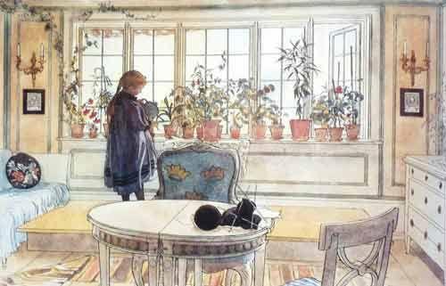 La salle à manger en rêve - ©Carl Larsson - 1853-1919 Maison