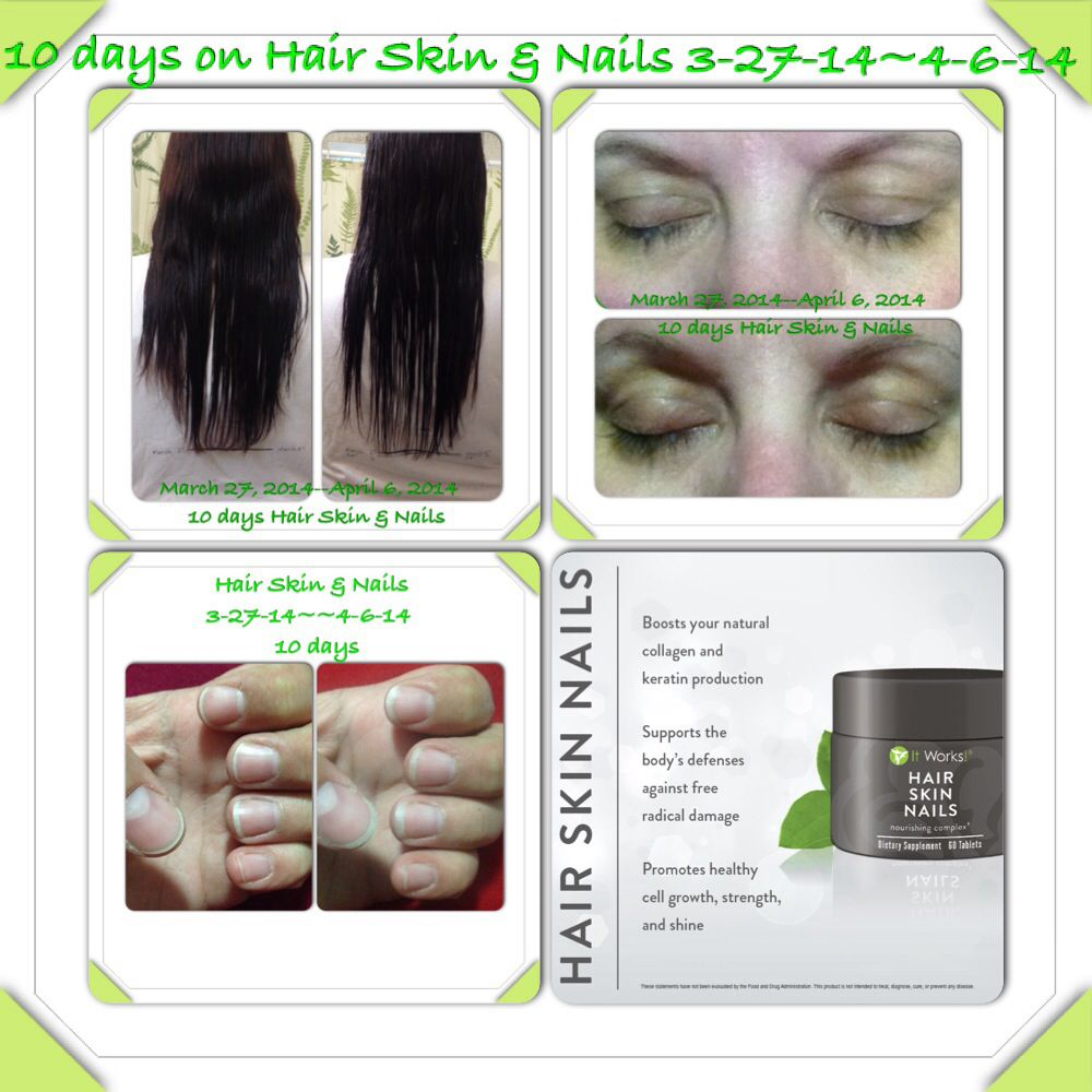 Hair Skin & Nails!! Amazing new product from It Works