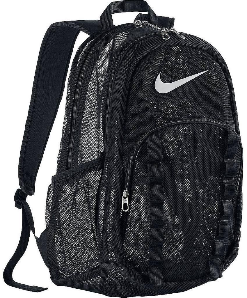 Nike Mesh See Through Backpacks  63477762381dc