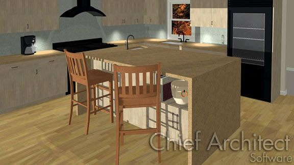Creating Waterfall Countertops Chief Architect Knowledge Base Chief Architect Home Additions Architect Design