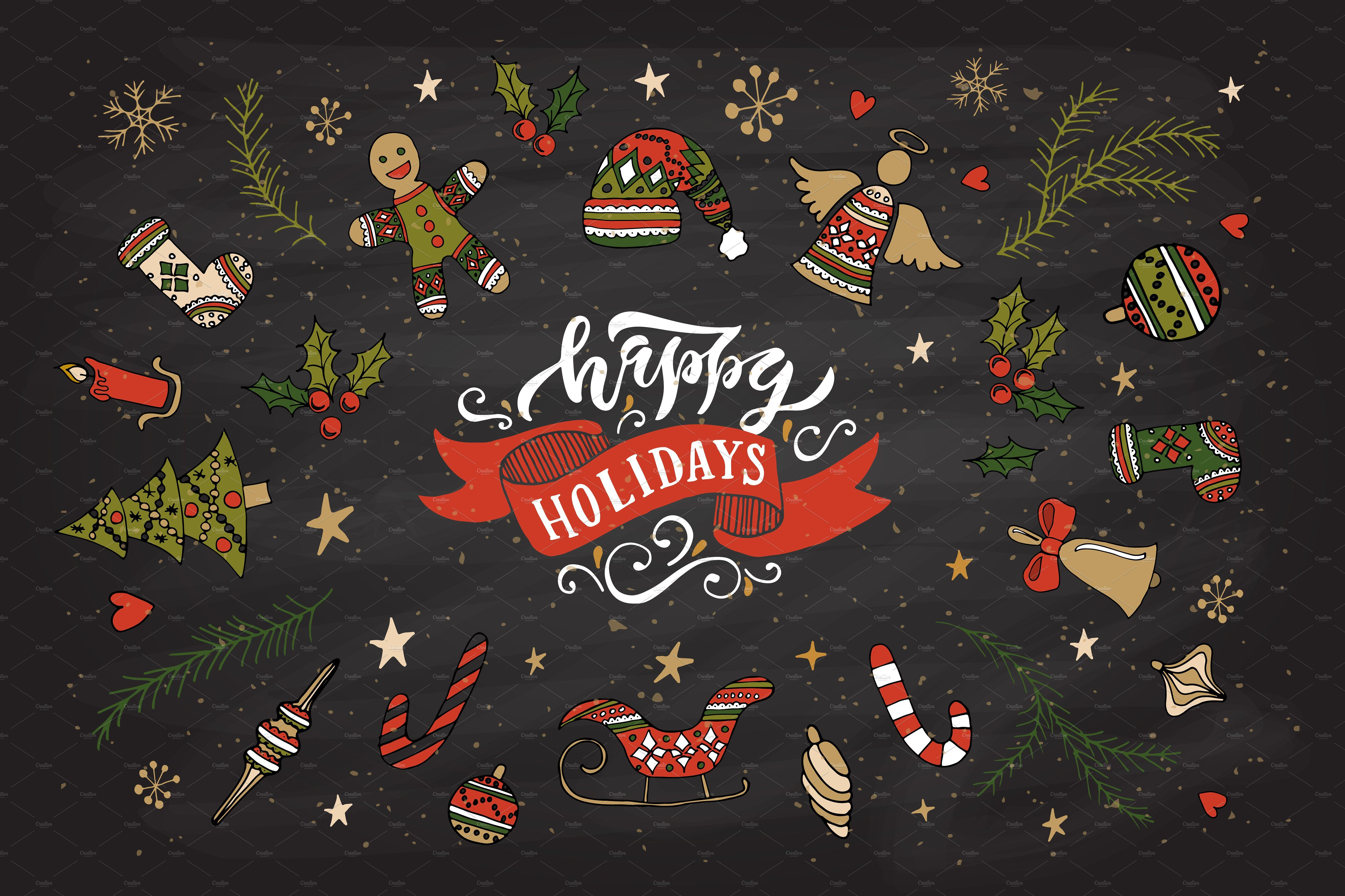 Happy Holidays Card Template Holiday Card Template Happy Holiday Greeting Cards Happy Holiday Cards