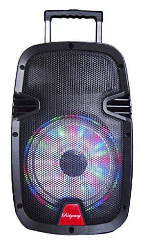 Ridgeway QS-10B Portable Audio Bluetooth Speaker Woofer