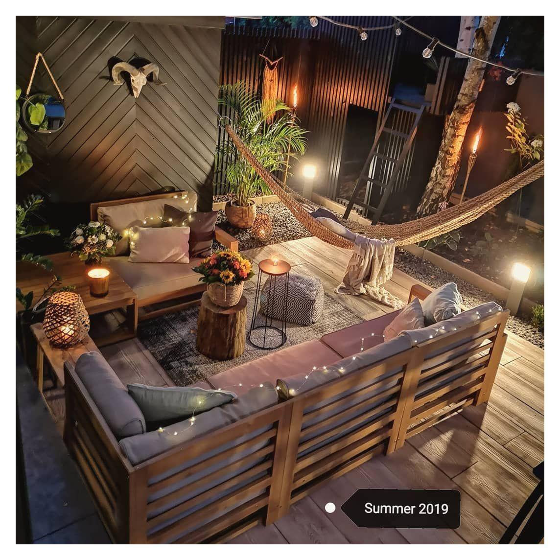 cosy garden ideas backyards seating areas