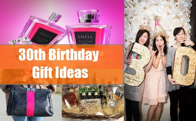 30th Birthday Gift Ideas For Men And Women