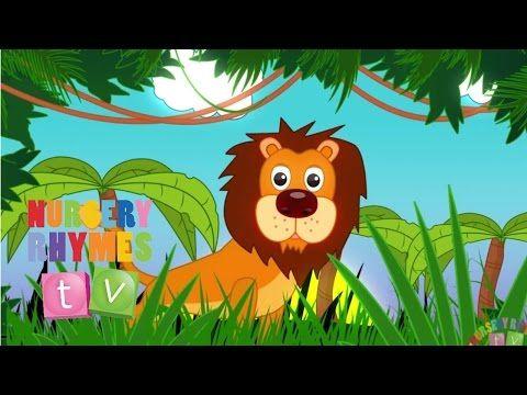 Animals In The Jungle Nursery Rhymes Tv Toddler Kindergarten Preschool Songs Youtube Kids Nursery Rhymes Nursery Rhymes Activities Nursery Rhymes