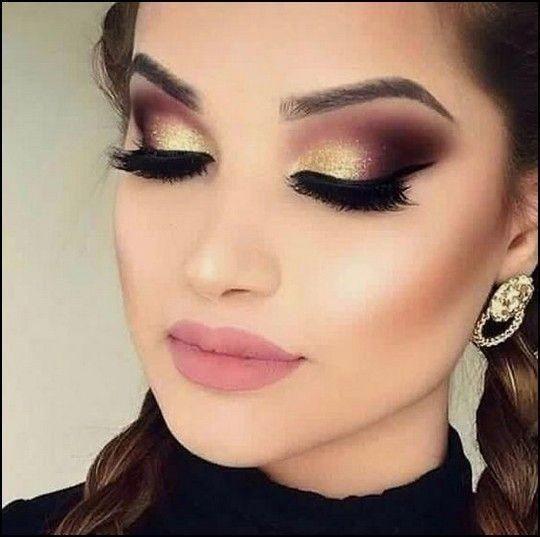 44 Excellent Eye Makeup Ideas For Wedding That Looks Elegant -