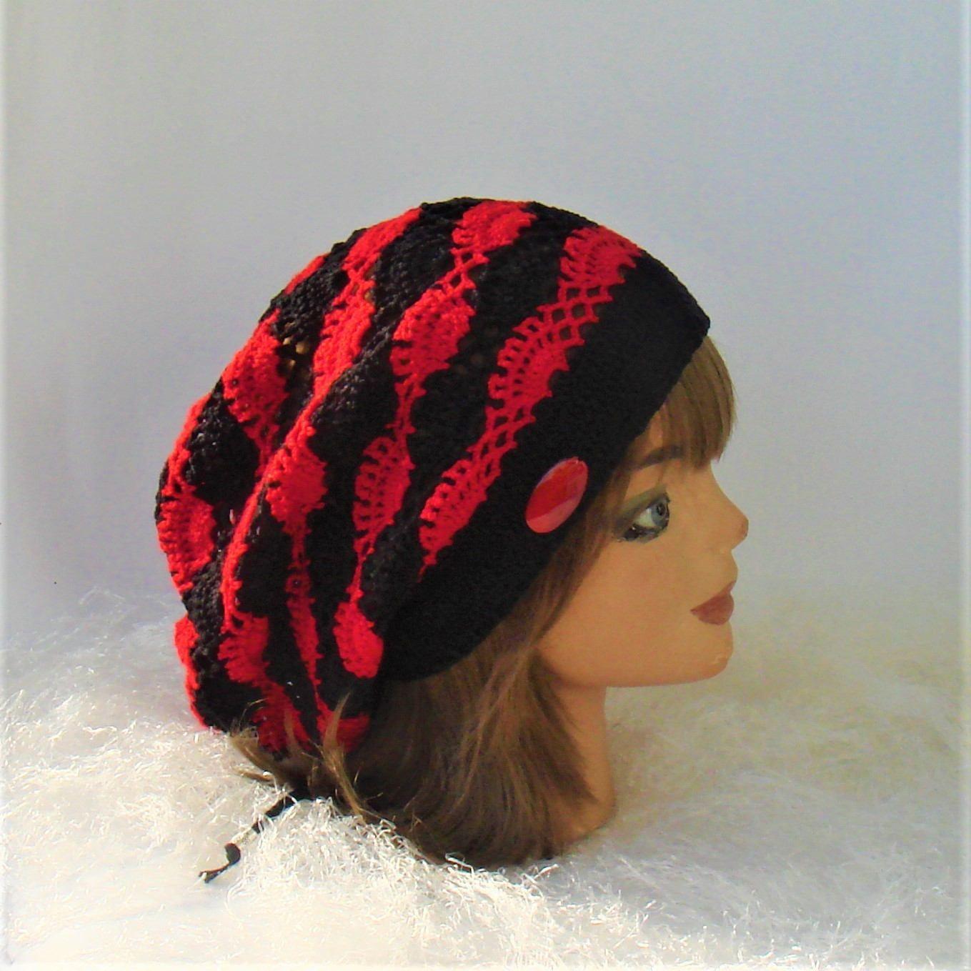 a2555b3a03f Crochet Rasta Hat