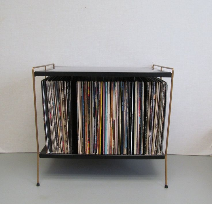 Wire Record Stand