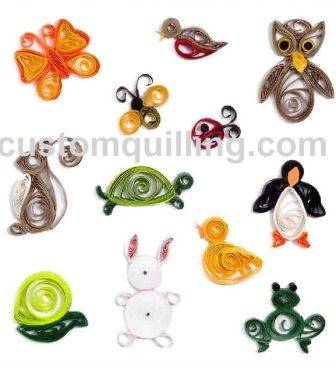 Garden pals quilling kit is a great beginners kits for for Quilling designs for beginners