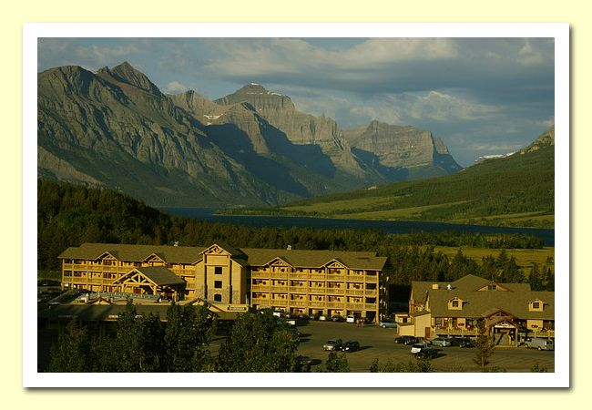 St. Mary's Lodge, Glacier National Park, MT - visited but didn't stay in this one.
