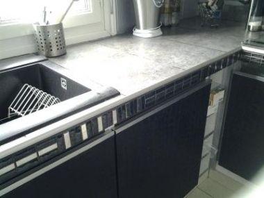 Carrelage pour plan de travail cuisine en photo carrelage Plan de cuisine leroy merlin