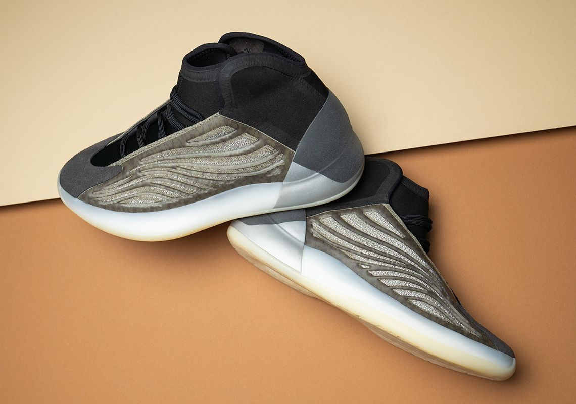 The Adidas Yeezy Quantum Barium Releases Tomorrow In 2020 Slip On Sneaker Yeezy Adidas Yeezy