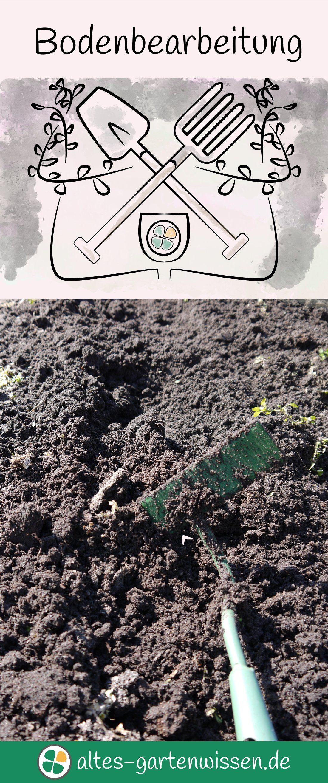 Bodenbearbeitung Garten Umgraben Garten Garten Pflanzen