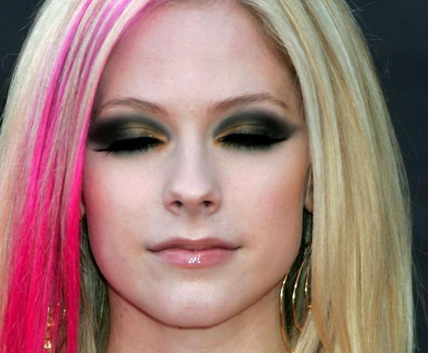 Avril Lavigne Makeup Cabello Y Peinados Avril Lavigne Makeup