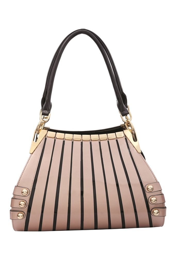 Serenade Leather Handbag Medium Monica Champagne Rrp 229 Sweetheartstreasures Au