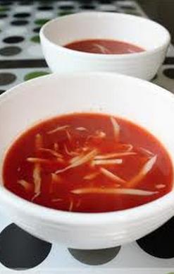 paradajková polievka (tomato soup)