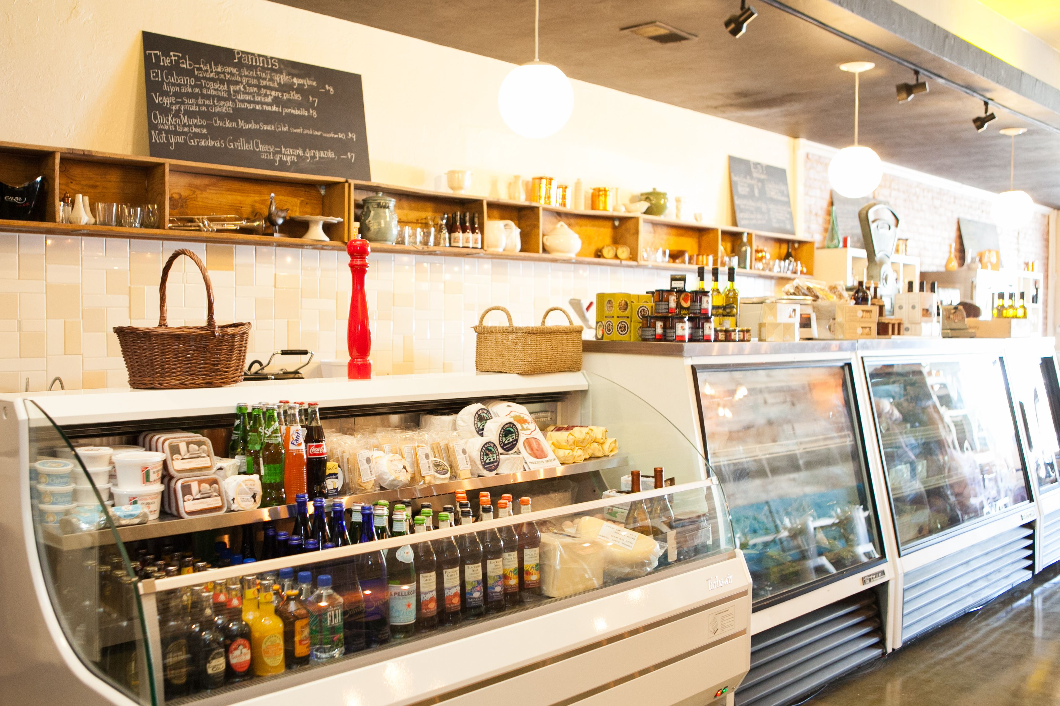 Deli counter. | Mile Wine Company Inside & Out | Pinterest ...