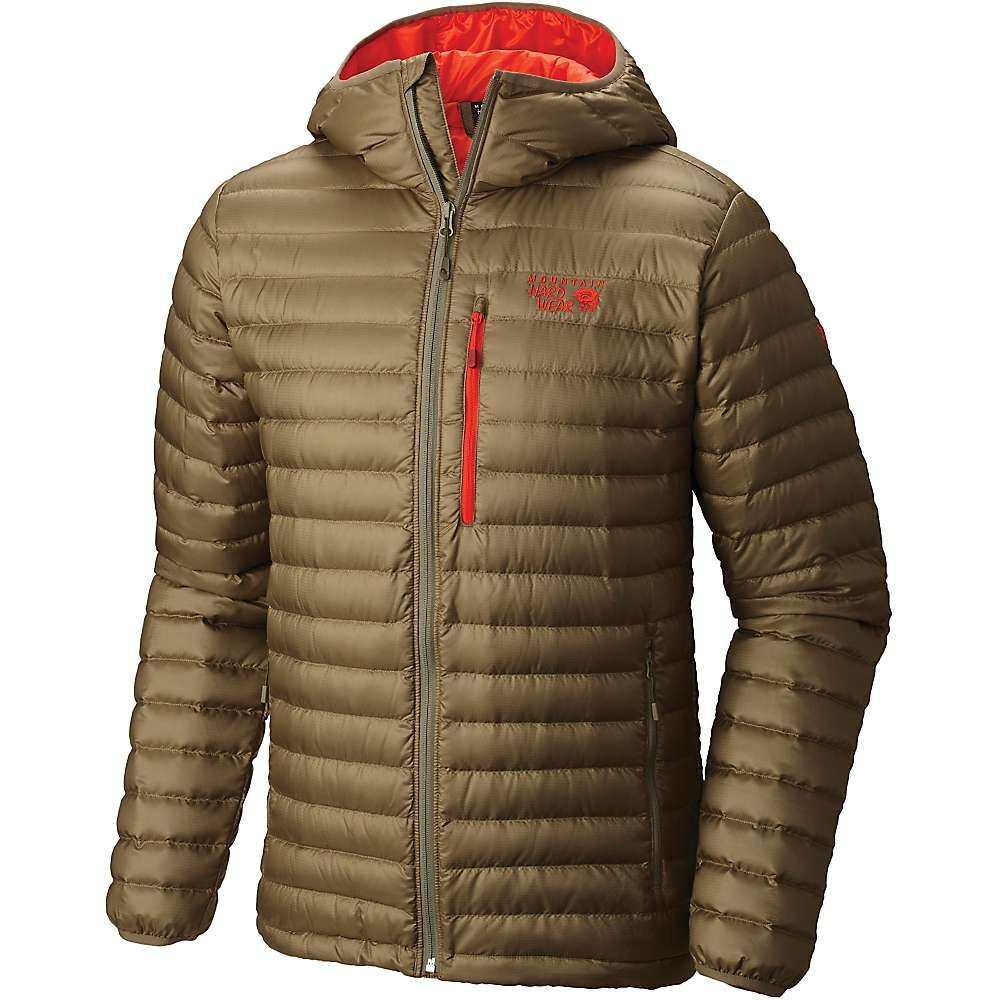 228f03f66 Mountain Hardwear Men's Nitrous Hooded Down Jacket