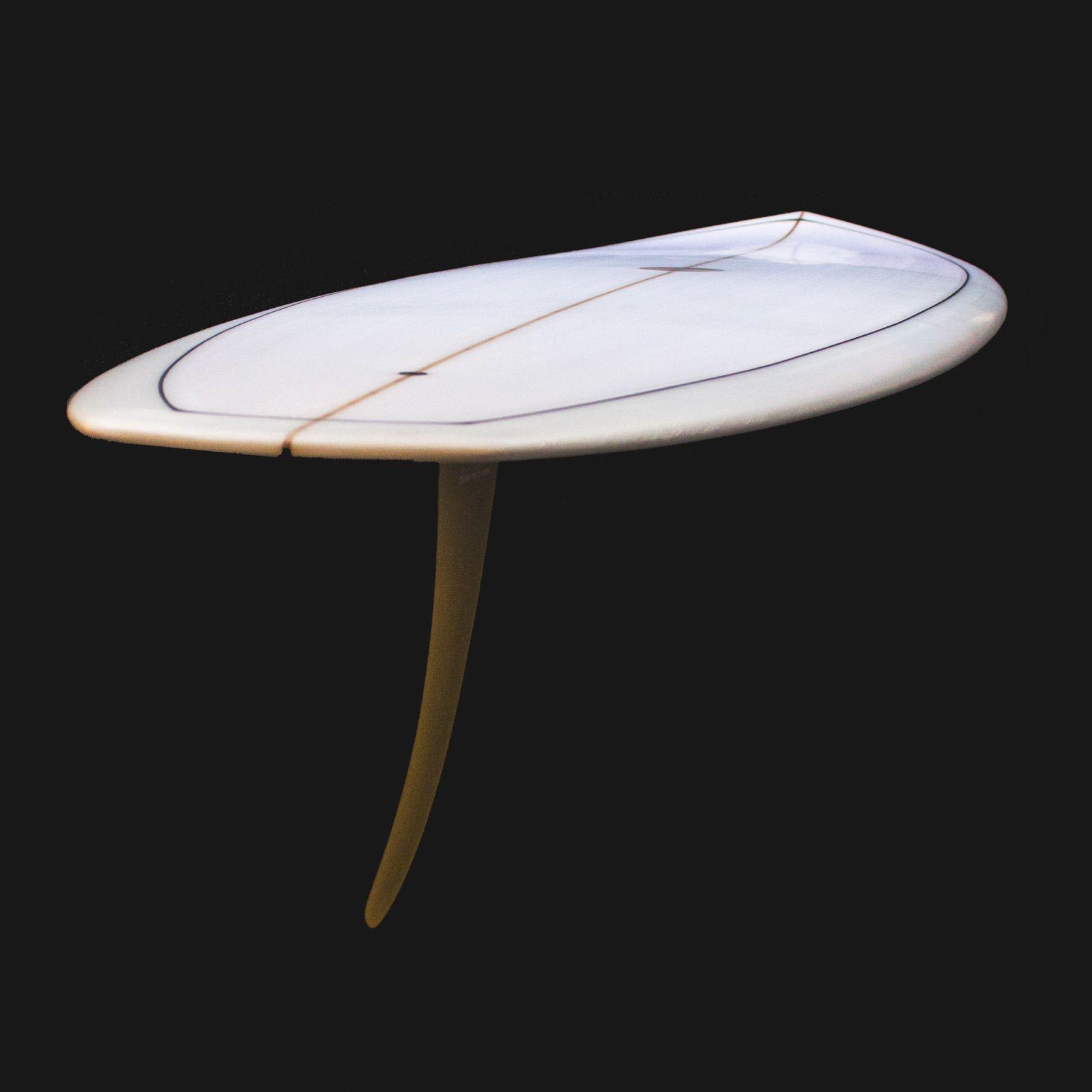 7'2 Transitional Period Inspired Single Fin Surfboard Aka