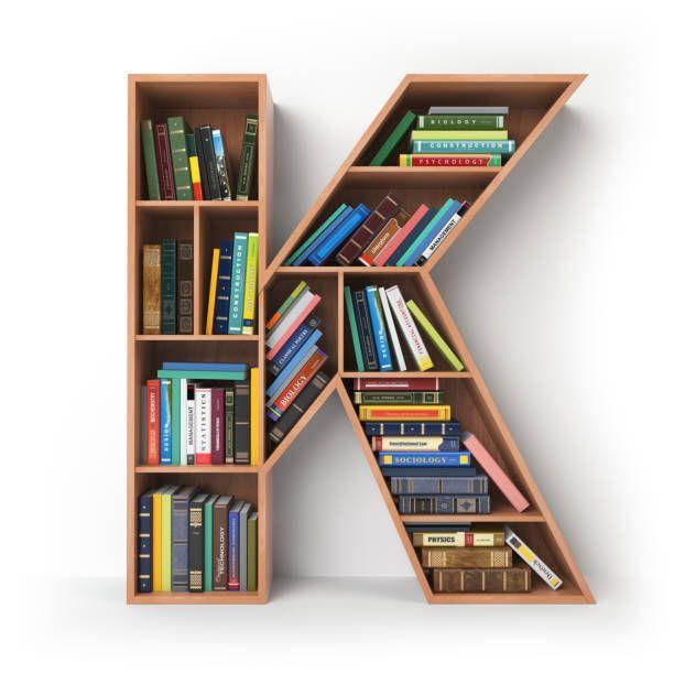 Home Design Ideas Buch: Buchstabe - Letter K ( Buch -Book)