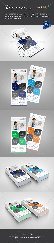 Medical Rack Card Flyer Design Templates Flyer Printing And Medical - 4x9 rack card template