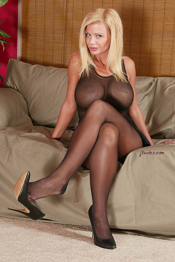 Sheer pantyhose sluts