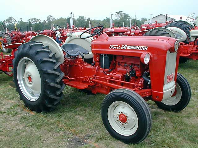 641 Ford Tractor