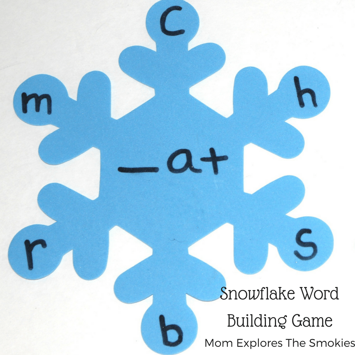 Snowflake Word Building Game