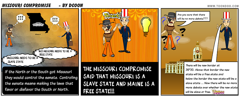 what does the missouri compromise mean