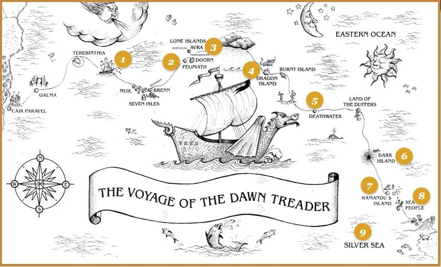 Take The Voyage of the Dawn Treader Audio Tour in 2020