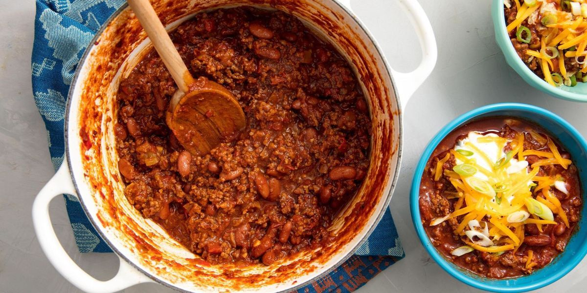 Your Whole Family Will Love This Easy Hearty Beef Chili Recipe Homemade Chili Recipes Beef Chili Recipe