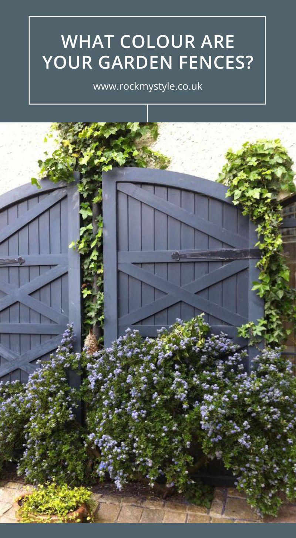 Garden Fence Colours  Garden fence paint, Garden fence, Garden