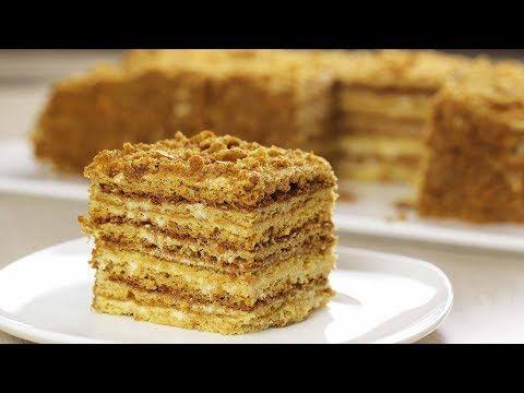 МЕДОВИК за 30 МИНУТ!!! ЭТО САМЫЙ ВКУСНЫЙ РЕЦЕПТ! БЕЗ раскатки КОРЖЕЙ / Семейный рецепт / Honey cake