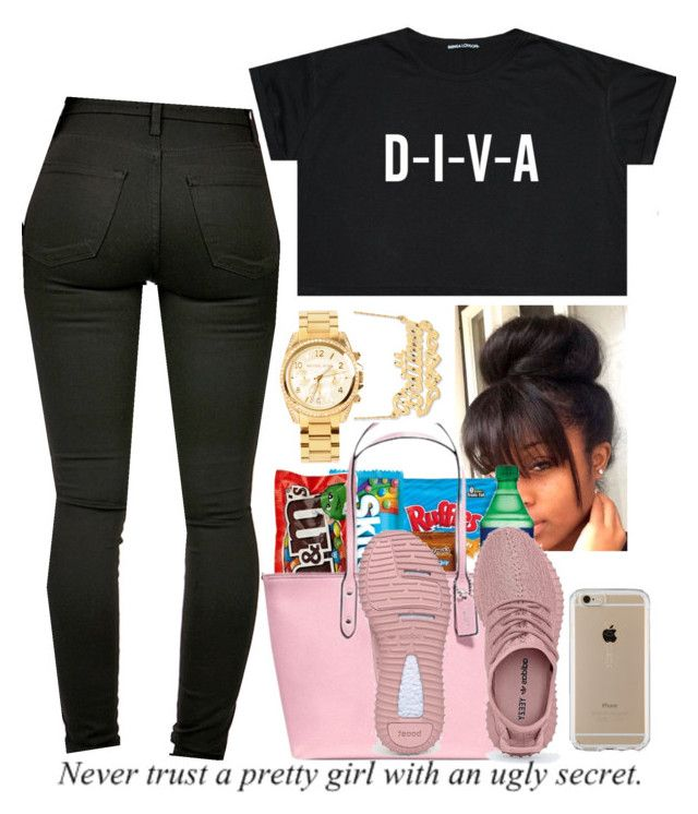"""""""divas getting money """" by rmanipoooh ❤ liked on Polyvore featuring Michael Kors, Speck and pooh"""
