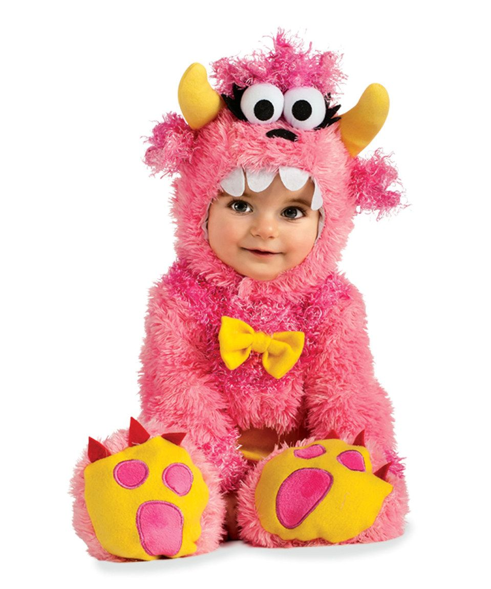 Little Pink Monster Dress-Up Outfit - Infant by chasing fireflies #zulily #zulilyfinds