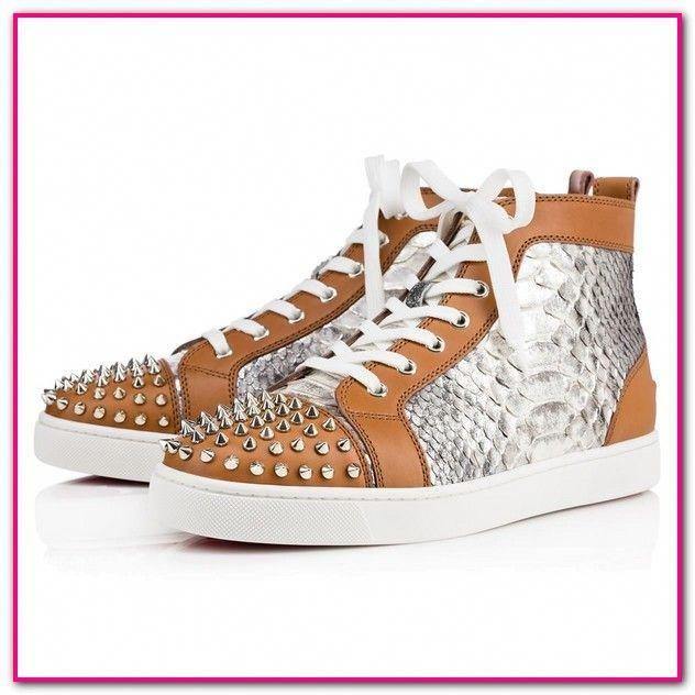 ade4fe33a3a Louboutin Schuhe Herren Sneaker-Kaufen Sie Second-Hand-CHRISTIAN LOUBOUTIN  sneakers für Herren on Vestiaire Collective.. 6. CHRISTIAN LOUBOUTIN Louis  Leder ...