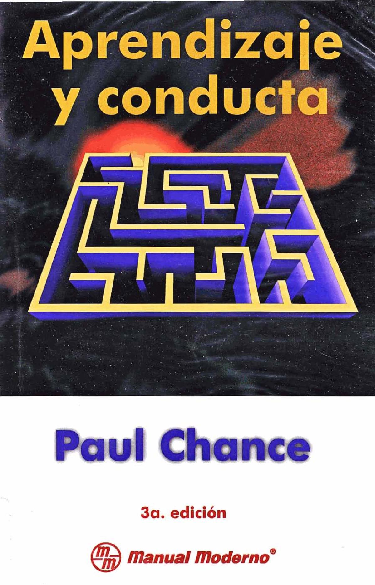 Aprendizaje y Conducta-Paul Chance (Pdf) - Documents | Libros ...