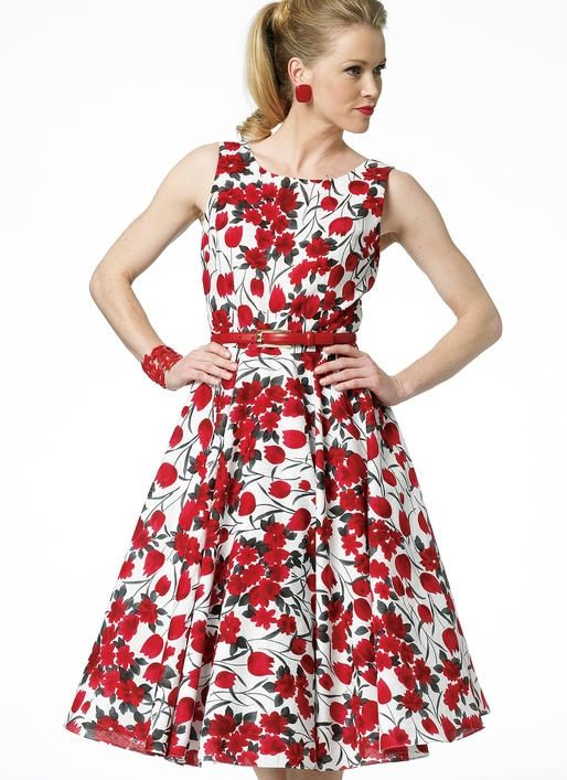 B5748 Damen Kleid, Butterick | Pinterest | Damen, Schnittmuster und ...
