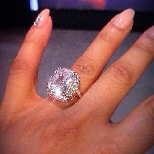 huge diamond ring fashion cute girl jewelry rings diamond diamond ring - Huge Wedding Rings