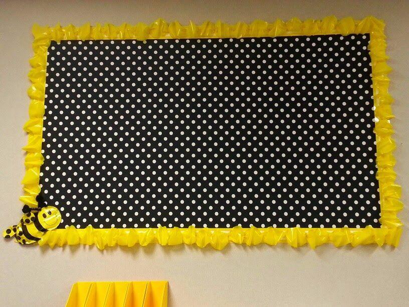 Classroom Border Ideas : Clutter free classroom bee themed photos tips