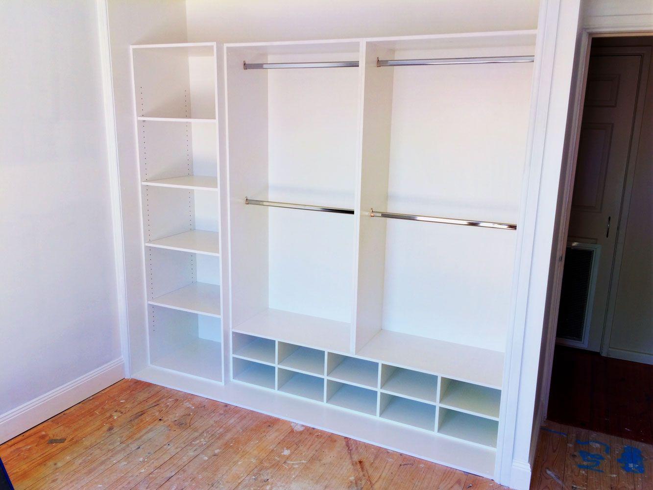Resultado de imagen de floor to ceiling built in wardrobe