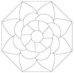 Zentangle Mandala Template