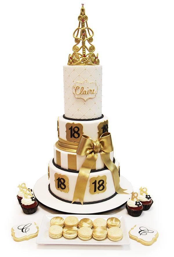 Besondere Kuchen Zum 18 Geburtstag Torten In 2019 Torte 18